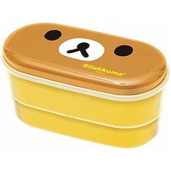 San-X Rilakkuma Bear Food Lunch Box Bento with Chopsticks
