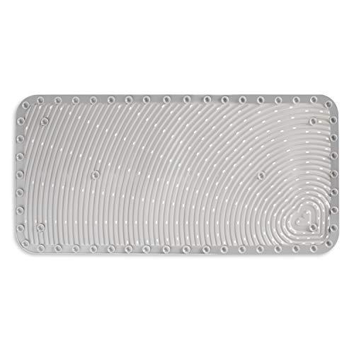 412CtDzkB8L - Munchkin Soft Spot Cushioned Bath Mat, Grey