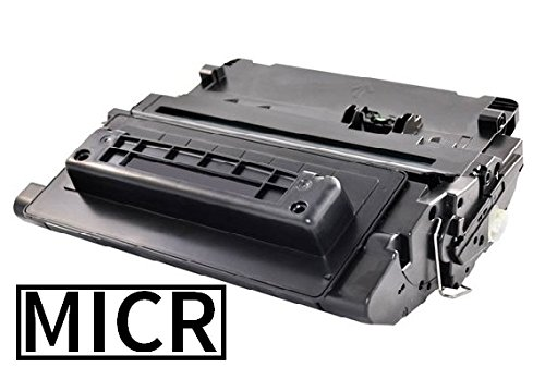 Premium Black Laser Printer MICR Toner Cartridge Magnetic Ink - Replaces HP CF281A 81A - Compatible with HP Enterprise M604dn - Enterprise M605DN - LaserJet Enterprise MFP M630 series