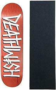 "Deathwish Skateboard Deck Deathspray (Assorted Colors) 8.25"" x 31.5"""
