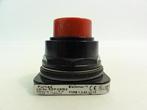 (FURNAS ELECTRIC CO 52PX8B2 PUSHBUTTON, MOM, RED, Extended, 2POS)