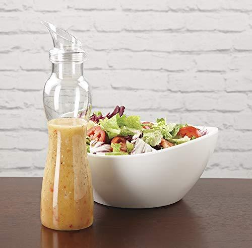 G.E.T. Enterprises SDB-32-PC-B-CL Clear 32 oz. Salad Dressing Bottle, Only), Polycarbonate (Pack of 12)