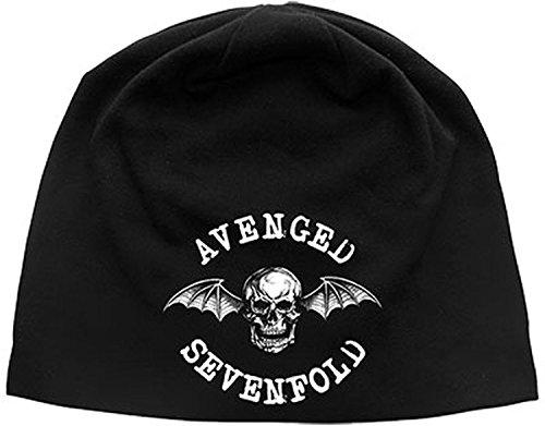 muerte Oficial Beanie Sevenfold nbsp;– Gorro nbsp;– bate nbsp;Avenged nbsp;Jersey zUF0twxrUn