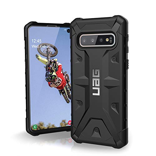 URBAN ARMOR GEAR UAG Designed for Samsung Galaxy S10 [6.1-inch Screen] Pathfinder [Black] Military Drop Tested Phone Case (Tactile Telephone Samsung)
