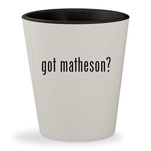 Jardin Glass Mirror - got matheson? - White Outer & Black Inner Ceramic 1.5oz Shot Glass
