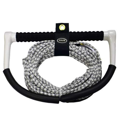 Rave Fuse Handle W/Polybond De Line Ski/Wakeboard Rope - 75'