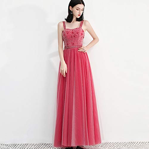 Gonna 1 Da Home Donna Sera Piccolo Pink Ailin Vestito Elegante Femminile Banchetto Abito AwRHTqT