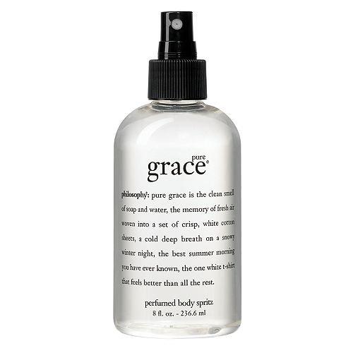 Philosophy Pure Grace all over body spritz 8 fl oz (236.6 ml ...