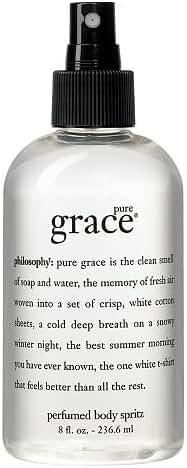 Philosophy Pure Grace Body Spritz, 8 Ounce