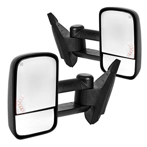 Towing Mirrors For Chevy Silverado 1500 2007 2013 4