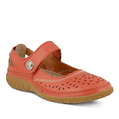 a0b574edde6d8 Spring Step Womens Naturate Highlights Shoe, CORAL, Size - 38 well ...