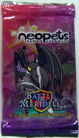Trading Booster Neopets Cards (Neopets: Battle For Meridell Booster Pack)