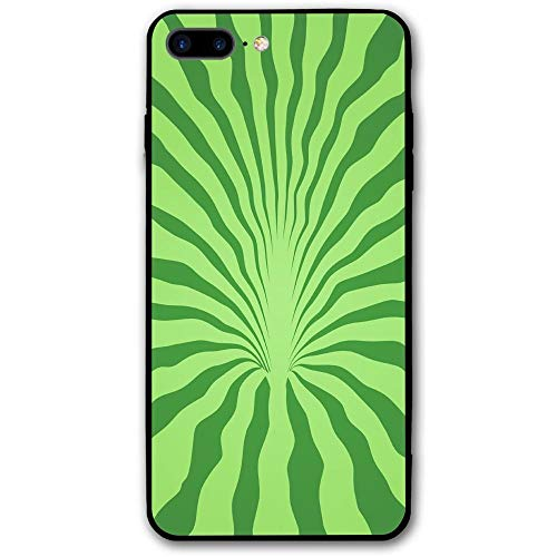 sensitives iPhone 8 Plus Case Watermelon Rind Slim Protective Cover Corner Cushion Design for Apple iPhone 8 Plus