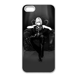iphone5 5s Phone Case,Misa Amane background design, shatterproof and lightweight Custom Phone Case,Hard Shell White