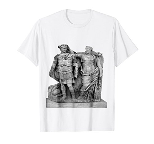 Nero and His Mother, Agrippina Roman Statue T-Shirt