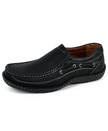 Mens Lounging Loafers Svart