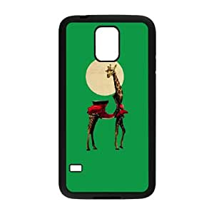 Giraffe Samsung Galaxy S5 Cell Phone Case Black NRI5052527