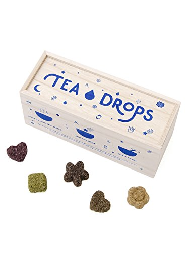 Heart Tea Gift Box - Tea Drops | Instant Organic Tea | Large Tea Sampler Box | 25 Handcrafted Best Selling Tea Drops | Great-Gift Set For Tea Lovers