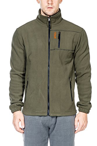 - Nonwe Men's Outdoor Fleece Jacket Winter Warmth XL Green