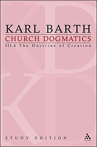 Download Church Dogmatics, Vol. 3.4, Sections 52-54: The Doctrine of Creation, Study Edition 19 PDF