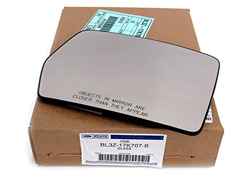 - 2011-2014 Ford F-150 Right Passenger Side View Power Heated Mirror Glass OEM NEW BL3Z-17K707-B