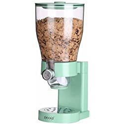 Zevro Single Cereal Dry Food Dispenser C0227ZV / Mint / Large capacity / Storage container / Breakfast