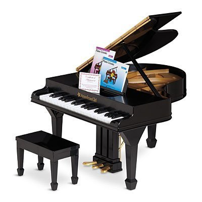 American Girl Grand Piano for Dolls-Plays Real Music!