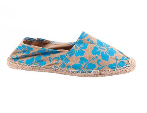 Espadrillas Blau Donna Basse Sonnenscheinschuhe Blu WYdqPwnR