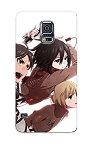 Eatcooment High-quality Durability Case For Galaxy S5(attack On Titan)