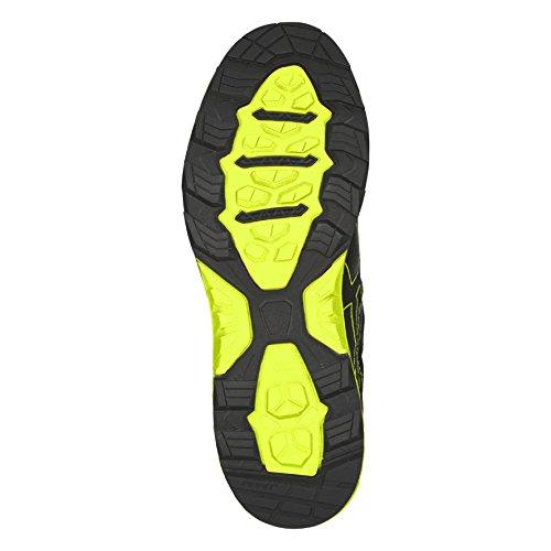 Asics Gel-Fujitrabuco 6 G-TX, Scarpe da Trail Running Uomo Mehrfarbig (Black/safety Yellow/black 9089)