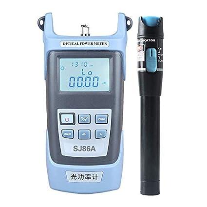 Sairis 5Km instrumento de prueba de fibra óptica + lápiz localizador con función de corrección 7