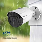 Amcrest UltraHD 5MP Outdoor POE Camera 2592 x 1944p