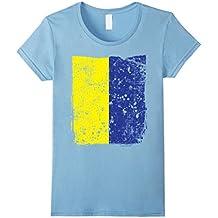 Faded Ukrainian Flag, Distressed Flag of Ukraine T-Shirt