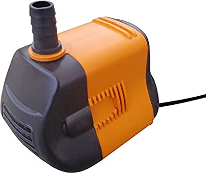 MLD®Mini12w to 18w Submersible Water Pump (Black/White /Orange/Blue) For Desert Air Cooler/ Aquarium Fountains