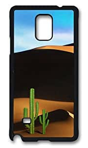 MOKSHOP Adorable Desert Travel Hard Case Protective Shell Cell Phone Cover For Samsung Galaxy Note 4 - PCB