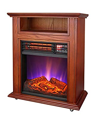 Comfort Glow QF4561R Electric Quartz Fireplace