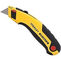 Stanley FatMax 0-10-778 mes (intrekbaar lemmet, 170 mm lengte, magnetische punt, zonder gereedschap vervangen van het…