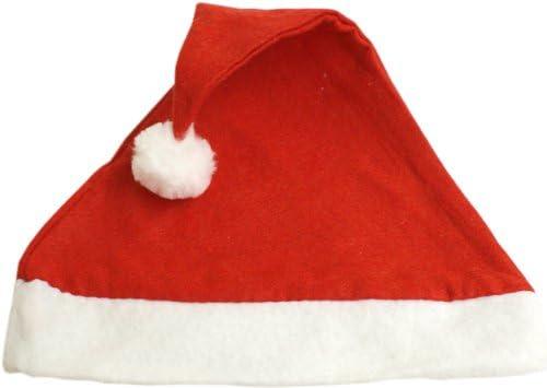 Pack de 6 Gorros de Papa Noel - Adulto: Amazon.es: Ropa y accesorios