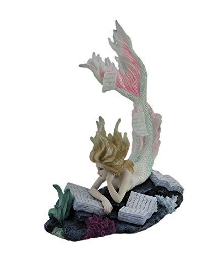 (Veronese Design Lost Books Mermaid Sculpture)
