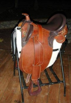 Stockrider 17″ Australian Saddle – by Sydney Saddleworks