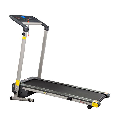 Sunny Health & Fitness SF T7632 Space Saving Folding Treadmill w/ LCD Display