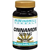 Windmill Cinnamon 500 mg Caplets 60 Caplets (Pack of 3) Review