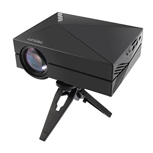 S1 LED LCD (WVGA) Mini Video Projector - International Version (No Warranty) - DIY Series - Black (FP8048S1-IV4)