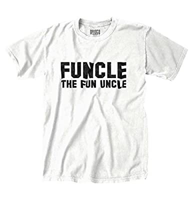Funcle Fun Uncle Funny Cute Uncle Brother Gift Bday Holiday T Shirt