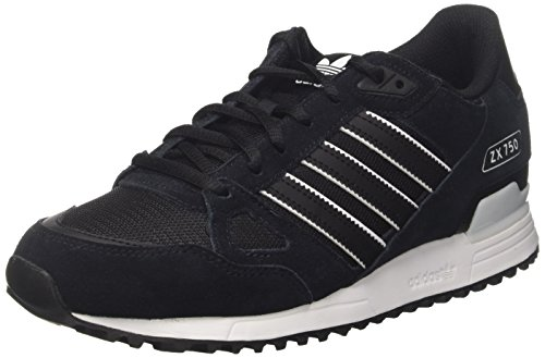 Adidas Men ZX 750, Black/White Black/White