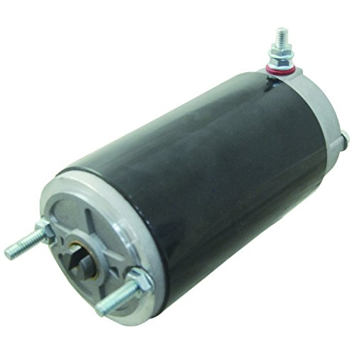 NEW MEYER E46 E47 DIAMOND SNOW PLOW PUMP MOTOR 15054 46-2415 3/16 SLOTTED SHAFT by AJ Electric
