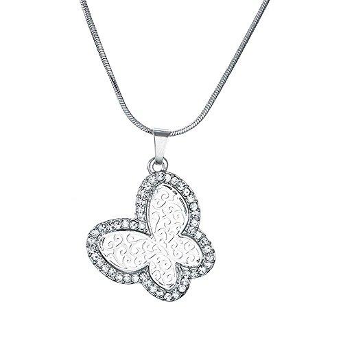 Miweel Fashion Jewelry Hollow Butterfly Pendant (Viva Nyc Halloween)