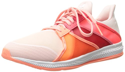 Adidas Performance Womens Gymbreaker Studsa Utbildning Sko Rosa / Sol Lyser Gul / Chock Röd