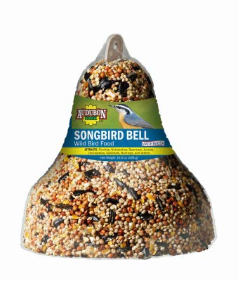 Audubon Park Global Harvest Foods 12221 Wild Bird Food, Seed Bell, 16-oz. - Quantity 6 by Audubon Park