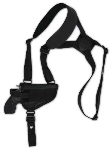 Barsony Cross Harness Shoulder Holster for 2 inch Snub-Nose .22 .38 .357 Revolver by Barsony Holsters and Belts